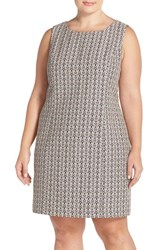 Plus Size Women's Tart 'Dinah' Print Sleeveless Sheath Dress