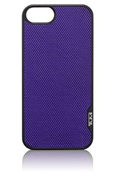 Tumi 'Prism' Leather Iphone 5 And 5S Case Purple Plum