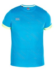 Canterbury Of New Zealand Vapodri Elite T Shirt Atomic Blue