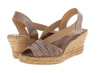 Vidorreta Lucy Light Brown Satin Women's Wedge Shoes