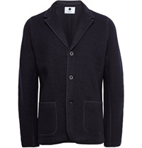 Nn.07 Midnight Blue Wallace Unstructured Boiled Wool Blazer
