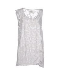 Prim I Am Topwear Vests Women Light Grey