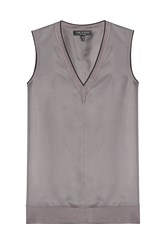 Rag And Bone Rag And Bone Silk Shell Grey