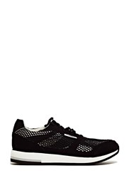 Lunge Unisex C Dur Classic Run Sneakers Black
