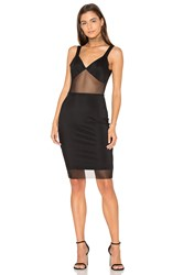 Donna Mizani V Back Cami Dress Black