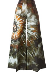 Valentino Abstract Print Palazzo Pants Multicolour