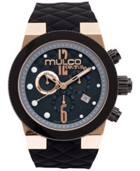 Mulco Unisex Couture Ceramic Silicon Strap Watch 46Mm Mw5 2552 023