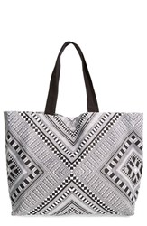 Shiraleah 'Cara' Graphic Print Canvas Tote