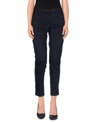 Paul And Shark Trousers Casual Trousers Women Dark Blue
