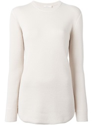 6397 Crew Neck Sweater Nude And Neutrals