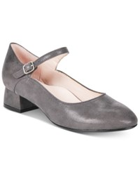 Taryn Rose Tr Fannie Mary Jane Pumps Women's Shoes Grey Dots