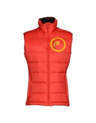 The Royal Pine Club Down Jackets Red