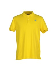 Beverly Hills Polo Club Topwear Polo Shirts Men Acid Green