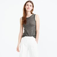 J.Crew Tipped Lightweight Wool Jackie Shell