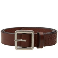 Neighborhood X Porter Square Buckle Garrison Belt Black