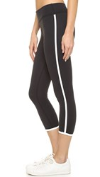 Beyond Yoga Kate Spade Framed Capri Leggings Black