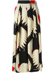 Antonio Marras Printed Pleated Skirt Multicolour