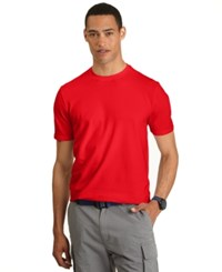 Nautica T Shirt Solid Anchor T Shirt Nautica Red