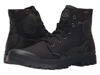 Palladium Pampa Hi Multicam Black Camo Men's Lace Up Boots