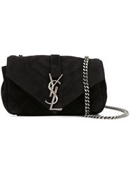 Saint Laurent Classic Baby 'Monogram' Chain Bag Black