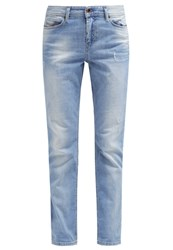 Diesel Reen Relaxed Fit Jeans Bleached Denim
