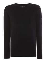 Duck And Cover Ripon 2 V Neck Knitwear Black