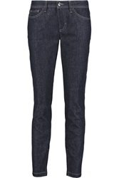 Dolce And Gabbana Low Rise Skinny Jeans