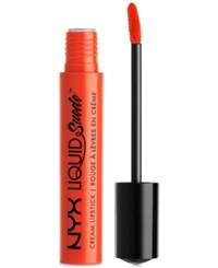 Nyx Liquid Suede Cream Lipstick Orange County