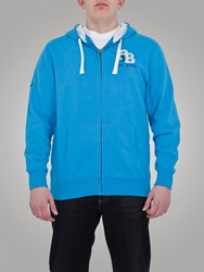 Raging Bull Big And Tall Rb Appl Zip Hoody Electric Blue