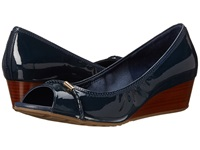 Cole Haan Tali Open Toe Det Wedge 40 Blazer Blue Women's Wedge Shoes