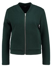 More And More Bomber Jacket Dark Forest Dark Green