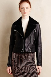 Paige Rooney Leather Jacket Black