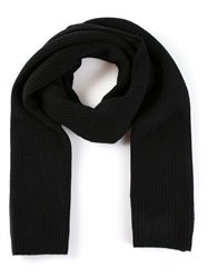 Vince Knit Scarf Black