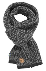 Fjall Raven Men's Fjallraven Frost Wool Scarf Dark Grey