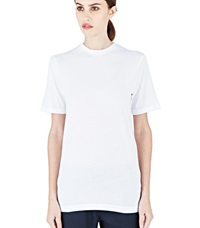 Sunspel 30S Crew Neck T Shirt From Aw15 In White