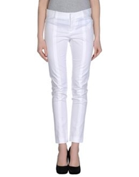 Stefanel Casual Pants White