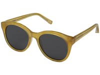 Elizabeth And James Foster Yellow Blue Mono Lens Fashion Sunglasses