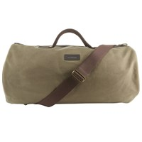 Barbour Waxed Cotton Holdall Sandstone