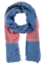 Tom Tailor Scarf Dusty Mineral Red Blue