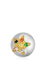 Carolina Bucci Summer Pearl Stud Earring With Star
