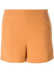 Chalayan 'Nothing' Shorts Yellow And Orange