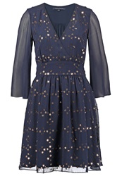 French Connection Cocktail Dress Party Dress Nocturnal Bronze Dark Blue