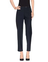 Harvey Faircloth Trousers Casual Trousers Women Dark Blue