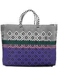Truss Nyc Woven Tote