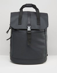 Asos Backpack With Internal Laptop Pouch Black