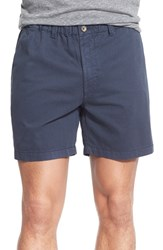 Men's Vintage 1946 'Snappers' Vintage Washed Elastic Waistband Shorts