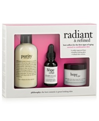 Philosophy Radiant And Refined Skincare Value Set No Color
