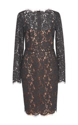 Paule Ka Dark Grey Lace Dress