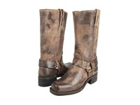 Frye Harness 12R Chocolate Cowboy Boots Brown