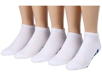 Globe Stealth Ankle Sock 5 Pack White Men's Low Cut Socks Shoes